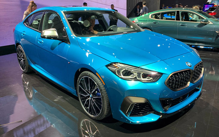 The BMW 2-series Gran Coupe 2021 — 2021 Year