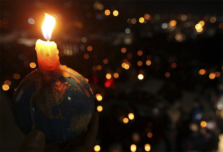 Earth hour in 2021