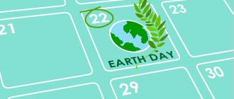 Earth day in 2021