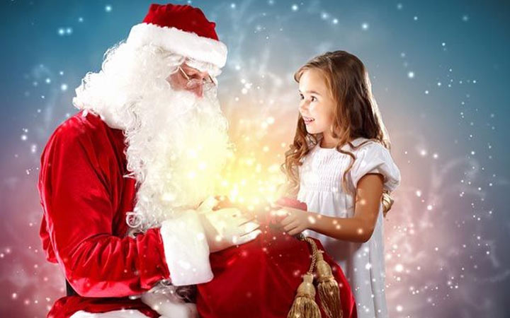 Personalized greetings from Santa Claus in 2021