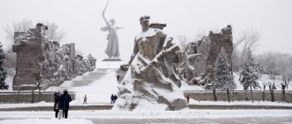 What will be winter in Volgograd in the 2020-2021 year
