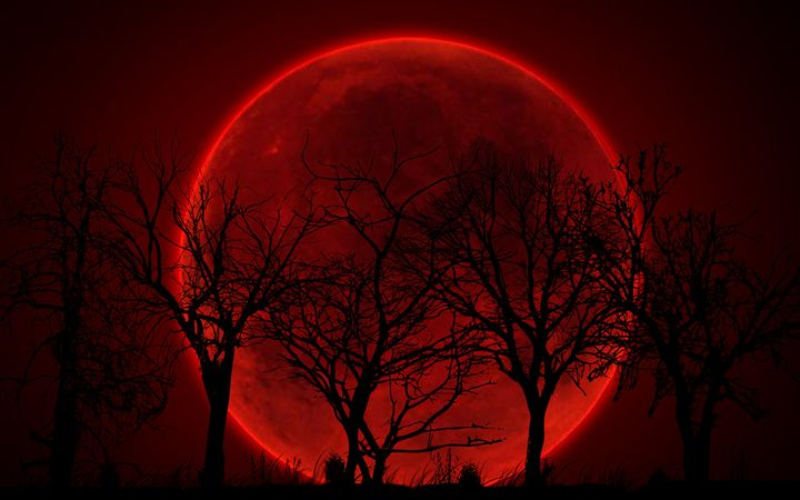 When will the blood Moon in 2021