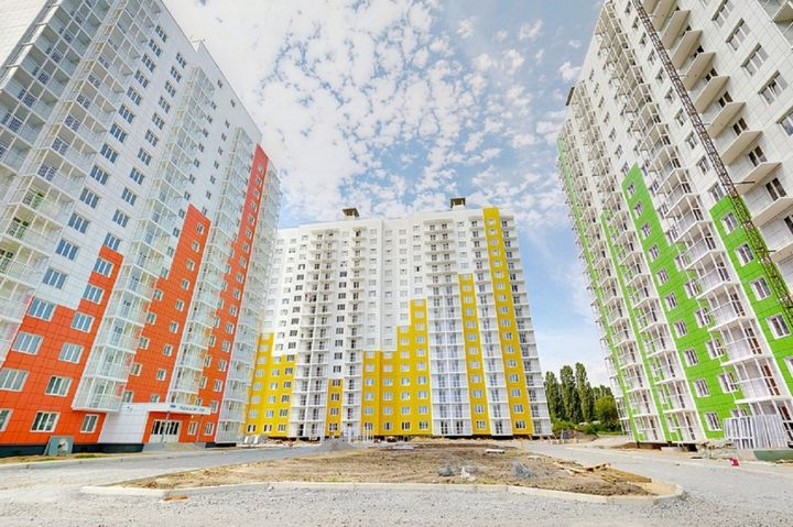 Buildings of Voronezh 2020-2021 year