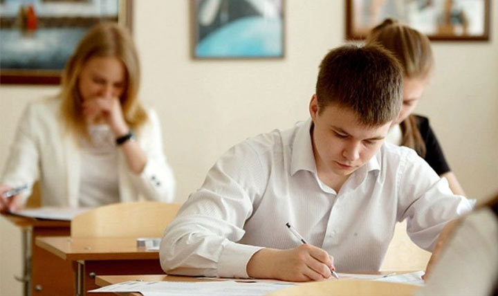 The plan works on the Russian language Examinations in 2021