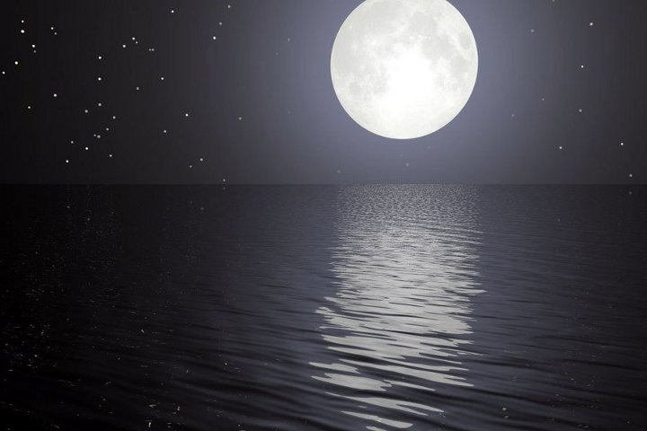 Full moon and new moon in December 2021