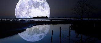 Full moon and new moon in October 2021