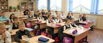 The school curriculum for primary school in 2020-2021 year