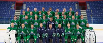 The composition of Salavat Yulaev in 2020-2021 year
