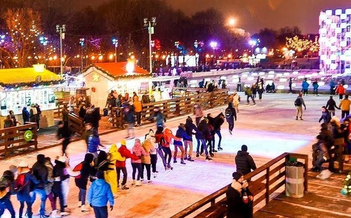 Ice rink in Gorky Park in 2021-2022 | when will they open, opening, prices