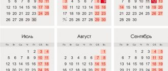 Red days of the 2021 calendar in USA