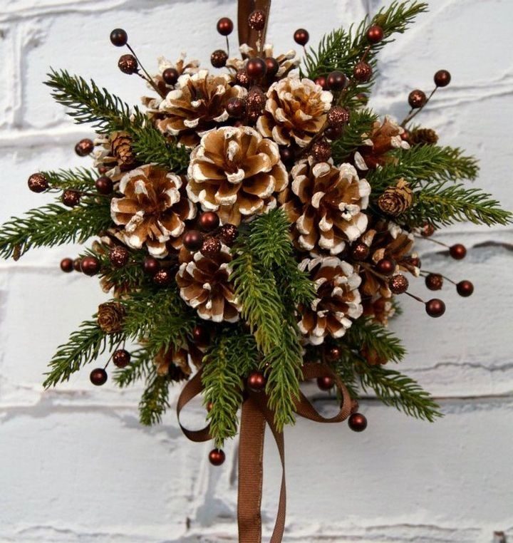 DIY Christmas compositions for the New year 2021