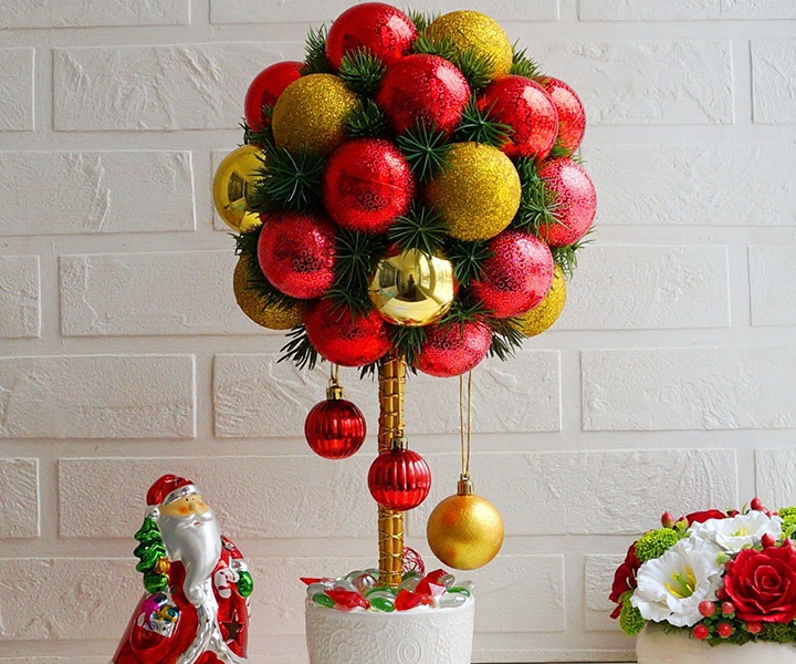 DIY Christmas topiaries for 2021   how to make, templates