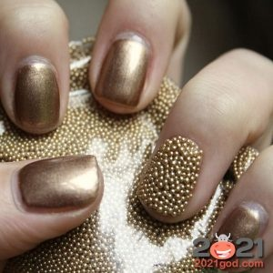 New year's manicure 2021 | nails for the New year, photos