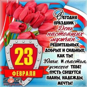Greetings from February 23 to men in 2021 | short, SMS, greeting cards