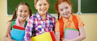 Subjects in the 5th grade in 2021-2022: the list