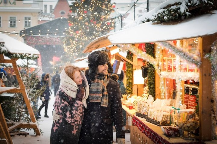 Christmas markets in Saint Petersburg 2021-2022   new year's events