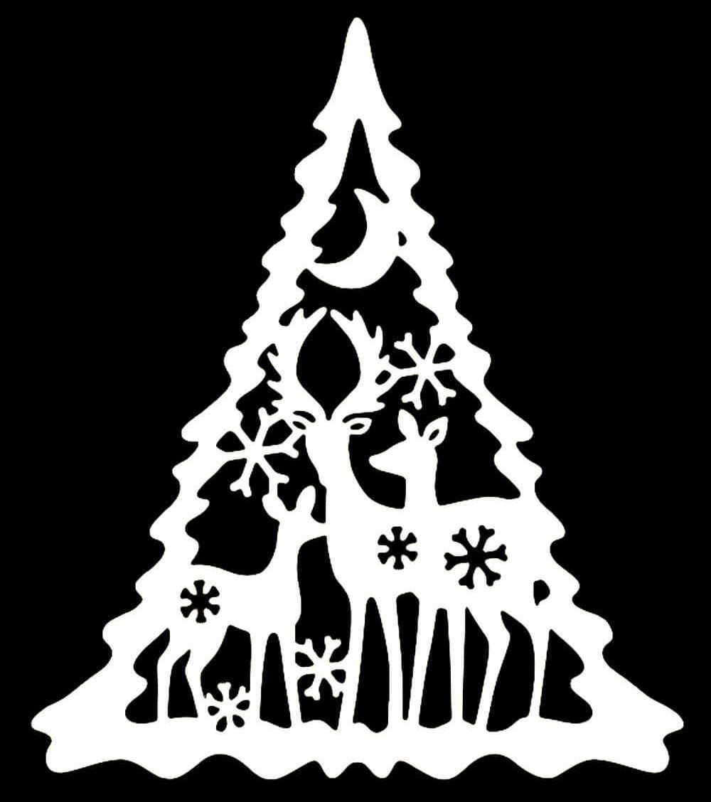 Paper cutting (stencils on Windows) on the New 2021 | snowflake templates to print